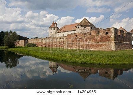 Famous Fagaras medieval castle