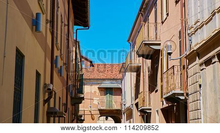 pictorial streets of old italian villages