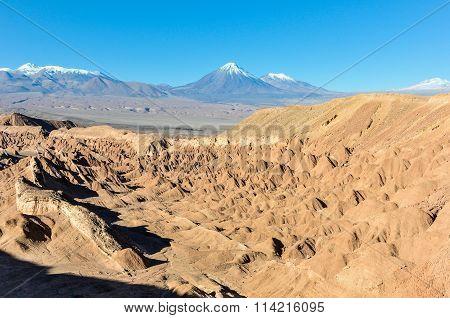 Death Valley In The Atacama Desert, Chile