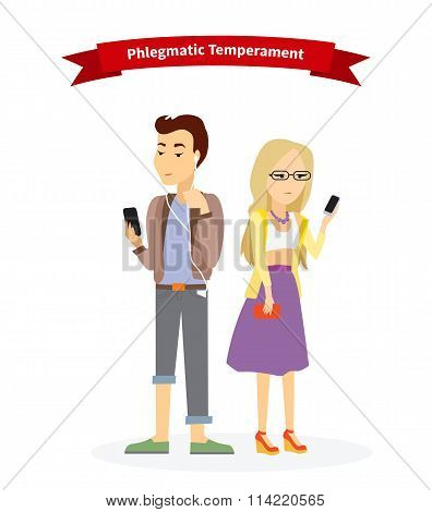 Phlegmatic Temperament Type People