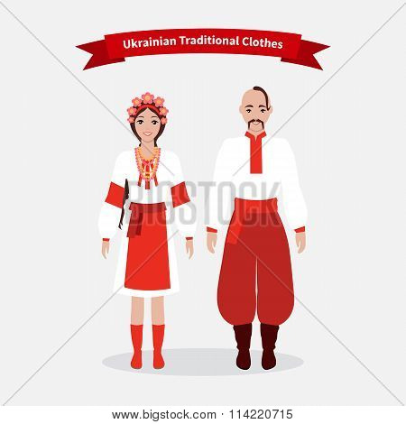 Ukrainian Traditional Clothes People