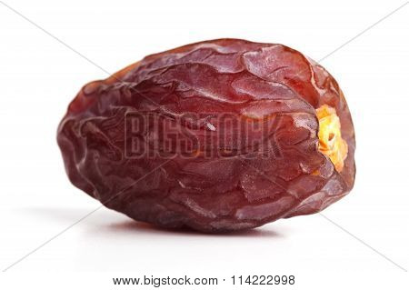 Delicious Ripe Jujube On A White Background