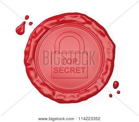 Red Wax Seal , Top Secret