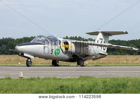 Swedish Air Force Saab 105 Trainer Jet