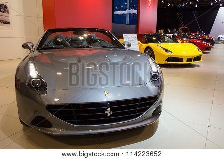 Ferrari California T Sports Car