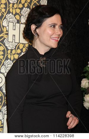 LOS ANGELES - JAN 10:  Alex Borstein at the HBO Golden Globes After Party 2016 at the Beverly Hilton on January 10, 2016 in Beverly Hills, CA