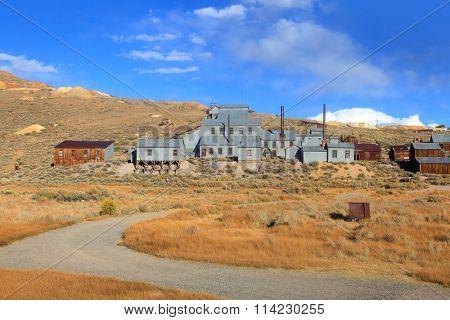 Old mine preserved in Bodie, California
