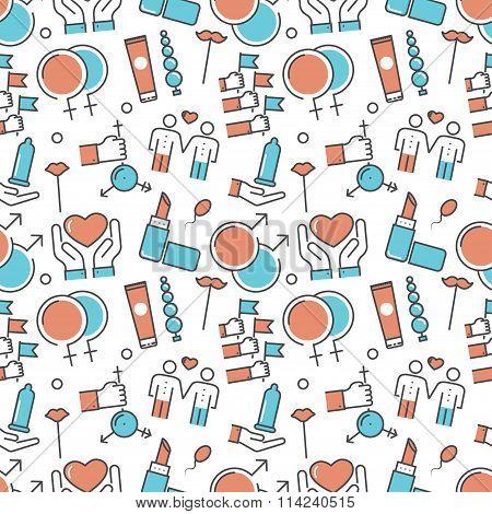 Vector modern seamless pattern texture background