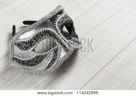 Venetian Silver Mask