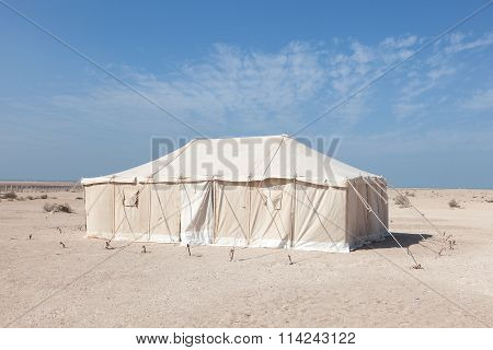 Tent In Qatar, Middle East