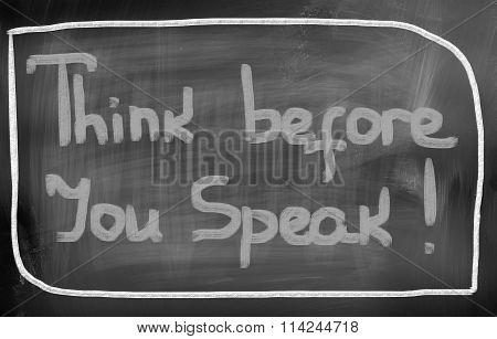 Concept Handwritten With Chalk On A Blackboard.