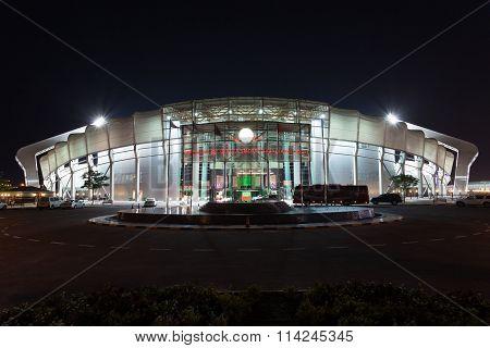 Abdullah Bin Khalifa Stadium In Doha, Qatar