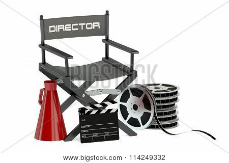 Movie, Cinema And Production Concept