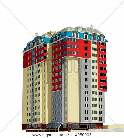 Residential Building 3D