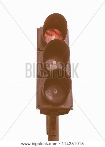 Traffic Light Semaphore Vintage
