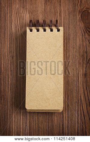 Retro Paper Notebook