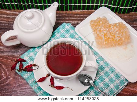 Tea Set From Colds