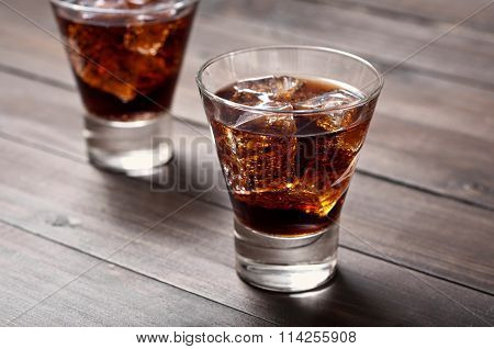 Cocktail Rum And Coke
