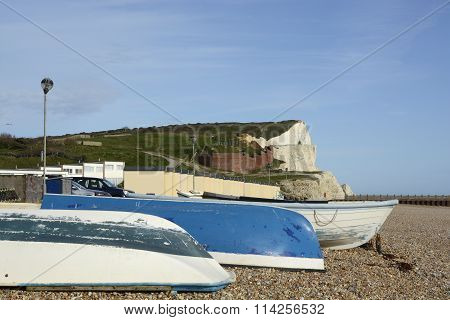 Seafront At Seaford, East Sussex, UK