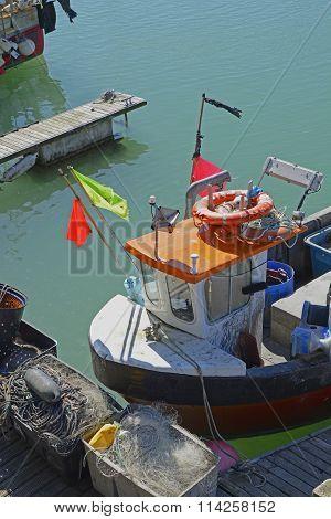 Fishing Boat, Brighton Marina, England
