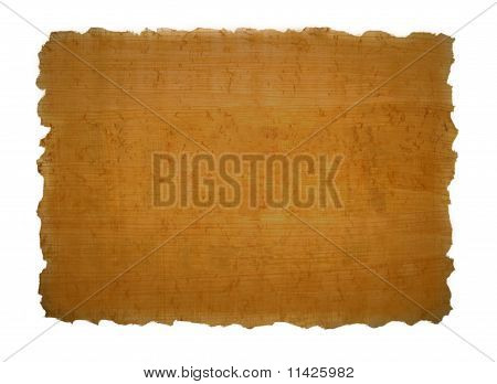 Piece of papyrus texture