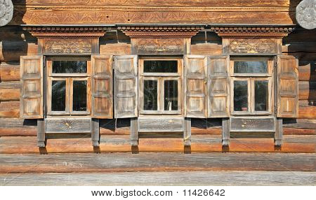 Traditional Old Russian Windows