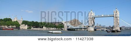 Historical London Panorama
