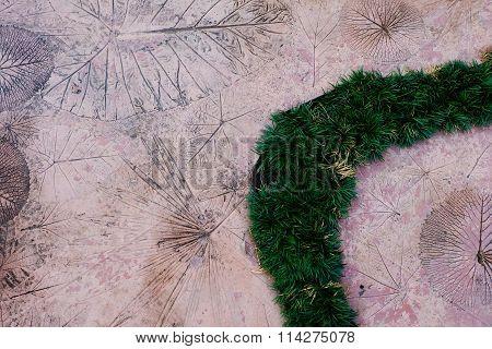 Stone walkway in the grass Flower Garden