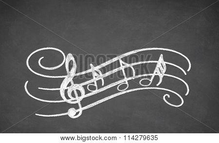 Musical Black board