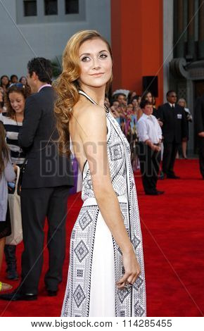 Alison Stoner at the Los Angeles premiere of