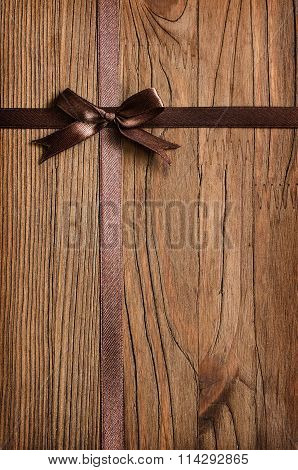 Wooden Holiday Background