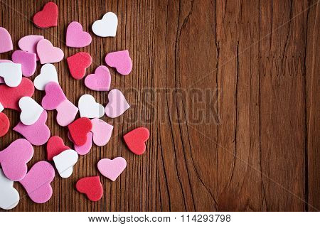 Lot Of Pink Hearts