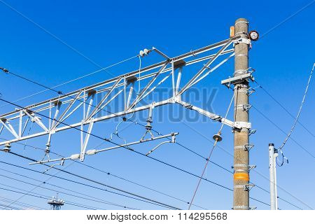 Railway electrification system.