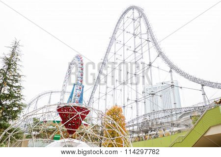Big-O (Ferris wheel) in Tokyo Dome City Attractions