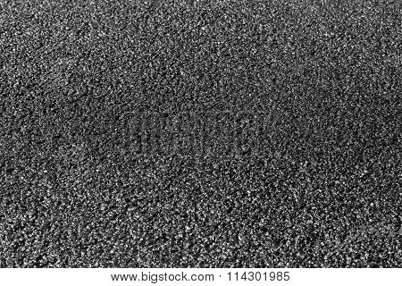 New Black Asphalt Pavement Background Photo