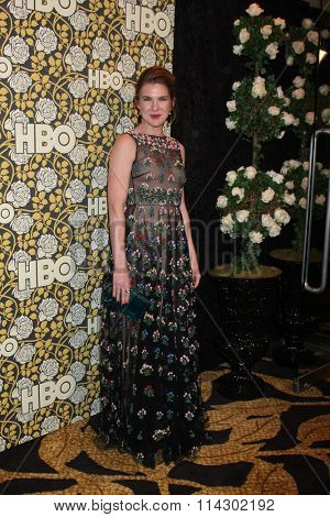 LOS ANGELES - JAN 10:  Lily Rabe at the HBO Golden Globes After Party 2016 at the Beverly Hilton on January 10, 2016 in Beverly Hills, CA