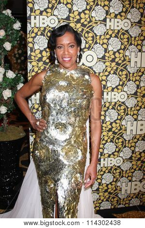LOS ANGELES - JAN 10:  Regina King at the HBO Golden Globes After Party 2016 at the Beverly Hilton on January 10, 2016 in Beverly Hills, CA