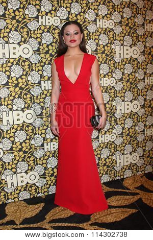 LOS ANGELES - JAN 10:  Sarah Jeffery at the HBO Golden Globes After Party 2016 at the Beverly Hilton on January 10, 2016 in Beverly Hills, CA