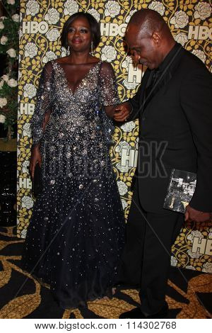 LOS ANGELES - JAN 10:  Viola Davis, Julius Tennon at the HBO Golden Globes After Party 2016 at the Beverly Hilton on January 10, 2016 in Beverly Hills, CA