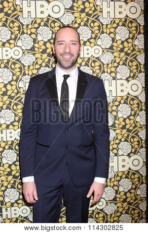 LOS ANGELES - JAN 10:  Tony Hale at the HBO Golden Globes After Party 2016 at the Beverly Hilton on January 10, 2016 in Beverly Hills, CA