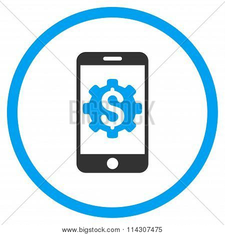 Mobile Bank Setup Icon