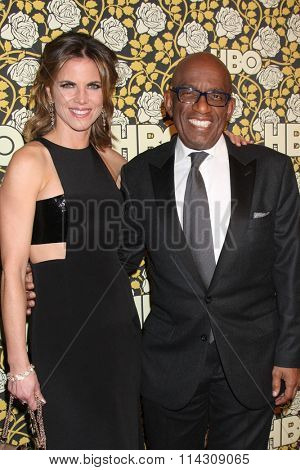 LOS ANGELES - JAN 10:  Natalie Morales, Al Roker at the HBO Golden Globes After Party 2016 at the Beverly Hilton on January 10, 2016 in Beverly Hills, CA
