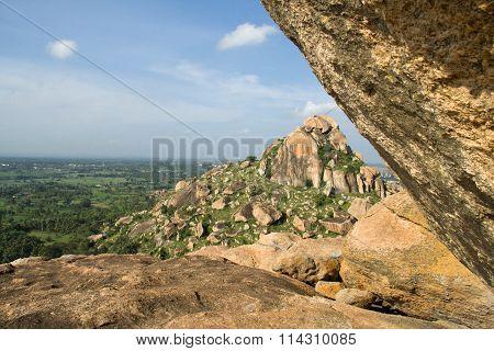 Hill View From Kunti Betta