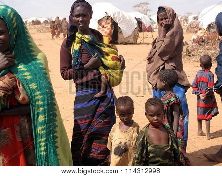 Refugee Camp in Somalia