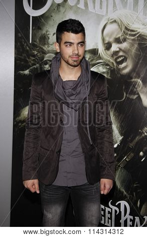 Joe Jonas at the Los Angeles Premiere of