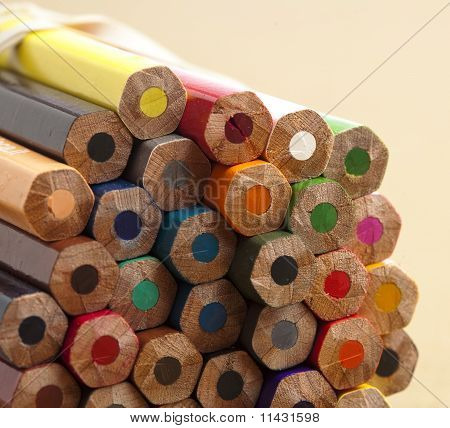 Wooden Crayons