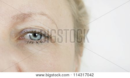 Eye Elderly Woman