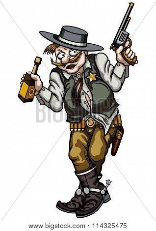 Drunk Gunman