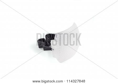 Standard Internal Flash Diffuser On The White Background.