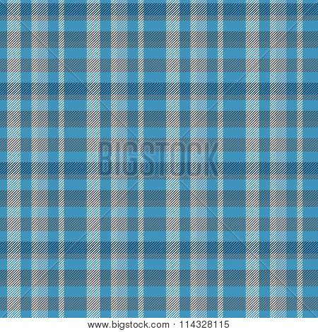 Blue gray checkered plaid